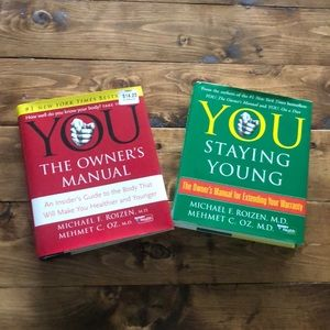 YOU The Owner's Manual and YOU Staying Young!